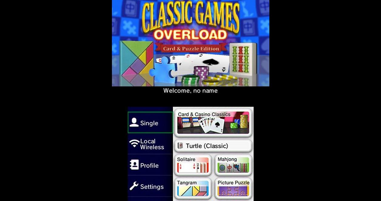 Classic Games Overload: Card and Puzzle Edition