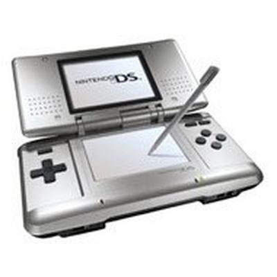 Nintendo DS Silver and Black GameStop Premium Refurbished