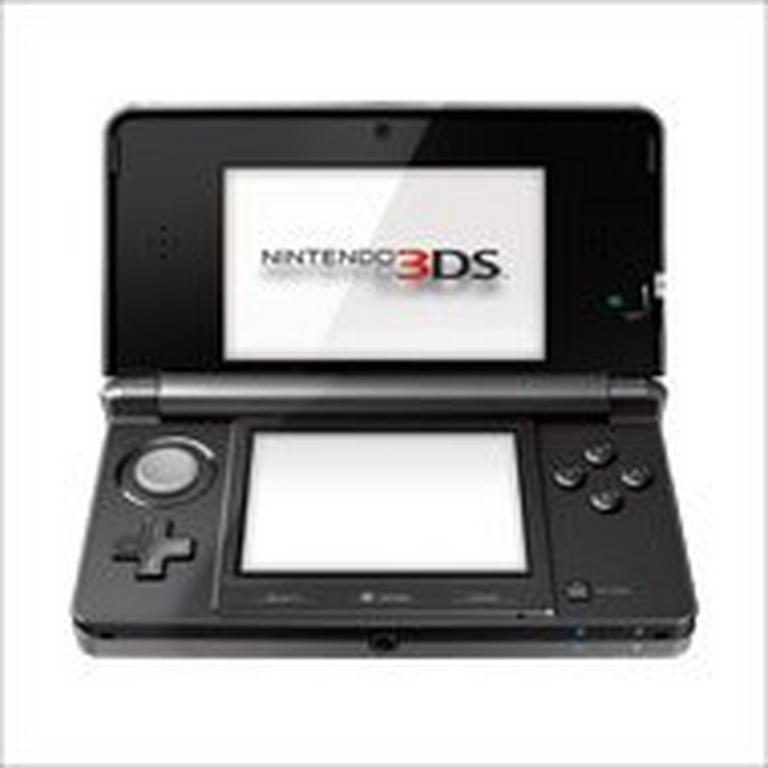 Nintendo 3DS System - Cosmo Black (ReCharged Refurbished)