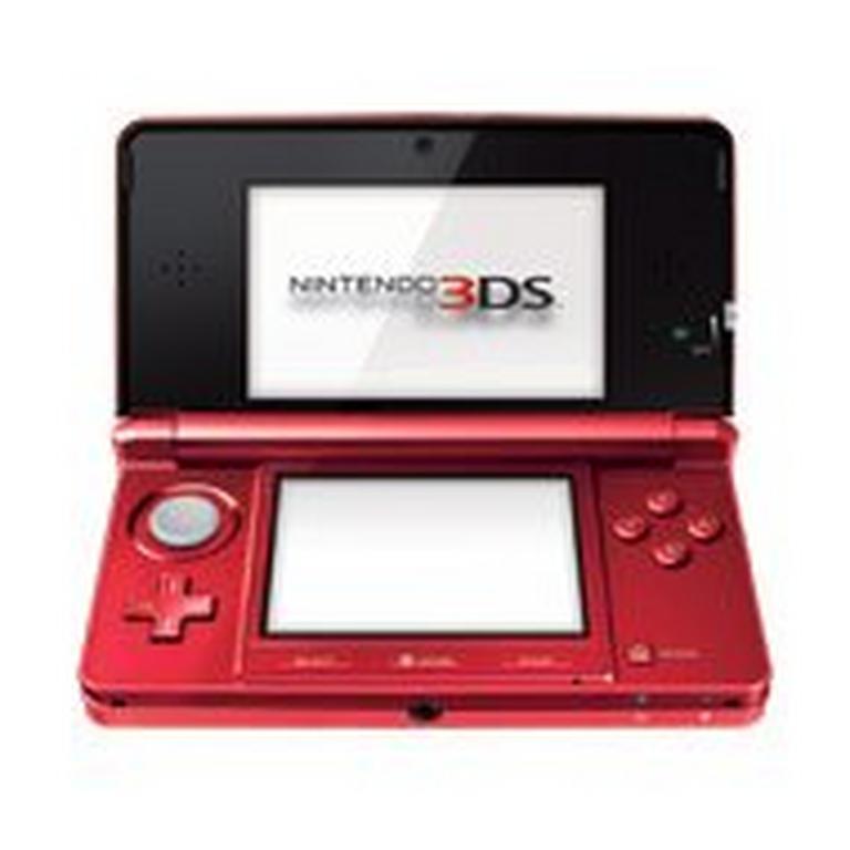 Nintendo 3DS Flame Red GameStop Premium Refurbished