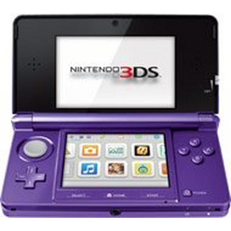 Nintendo 3DS System - Midnight Purple (ReCharged Refurbished)
