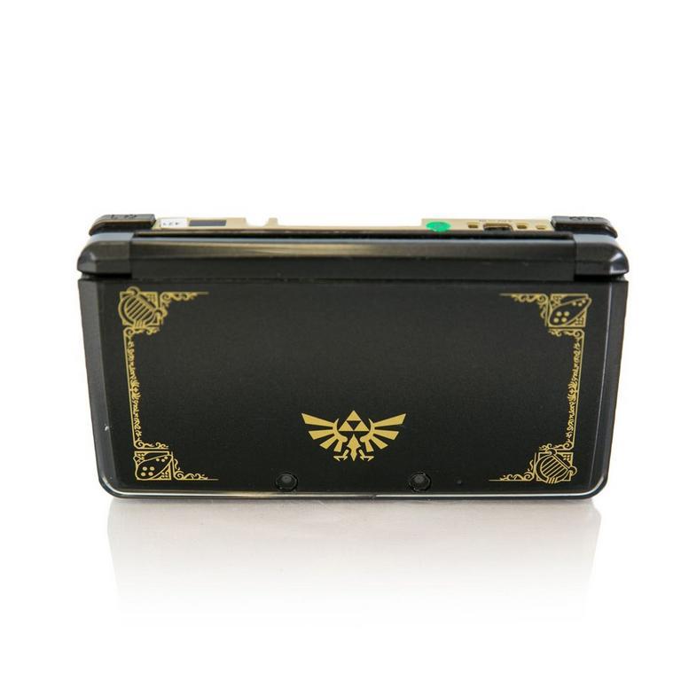 Nintendo 3DS System - Black/Gold Zelda (GameStop Premium Refurbished)