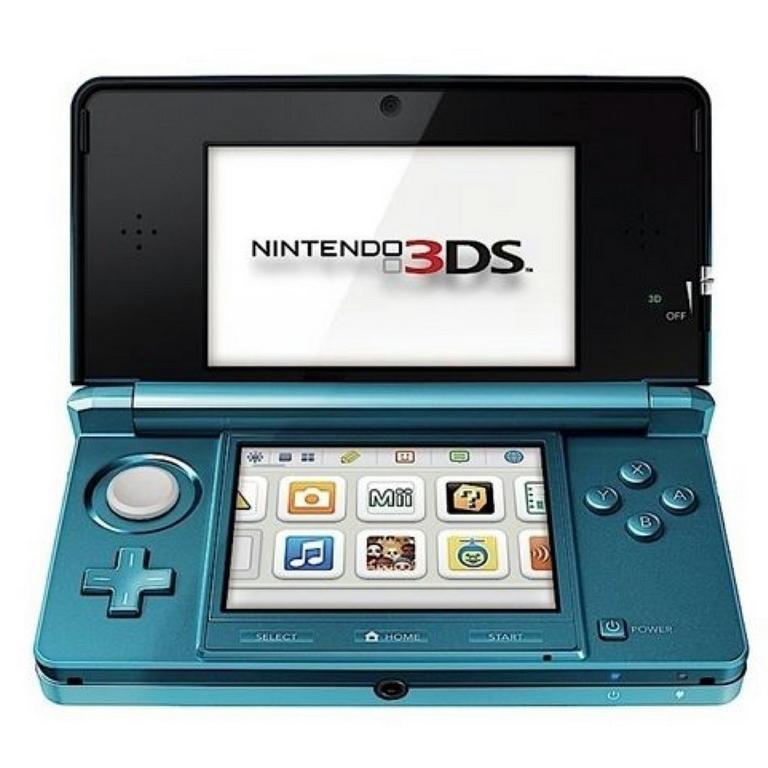 Nintendo 3DS Aqua Blue GameStop Premium Refurbished