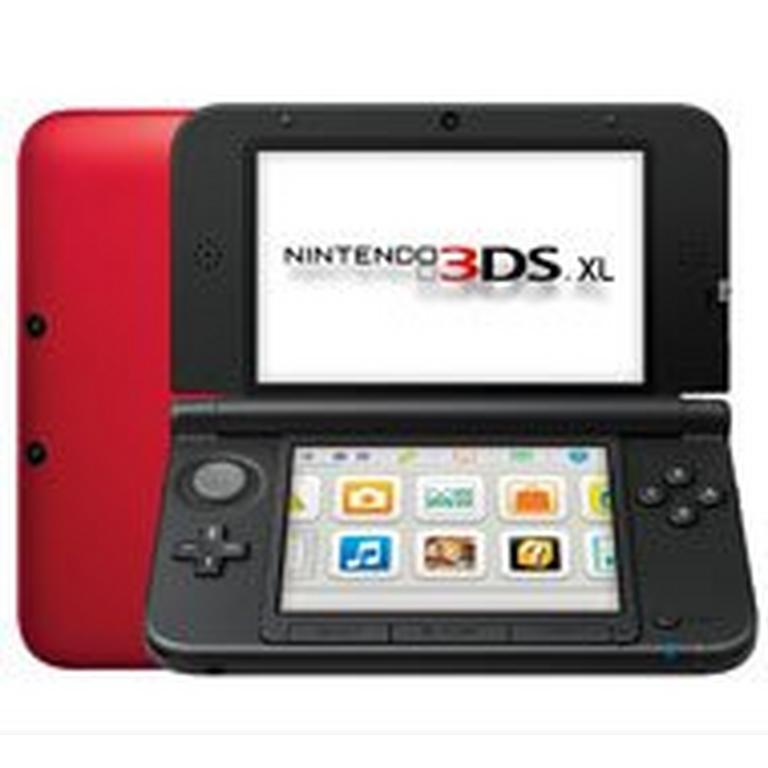 Nintendo 3DS XL System - Red (ReCharged Refurbished)