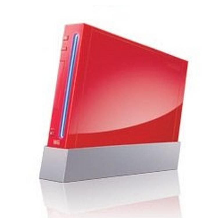 Nintendo Wii System with Motion Plus - Red (GameStop Premium Refurbished)