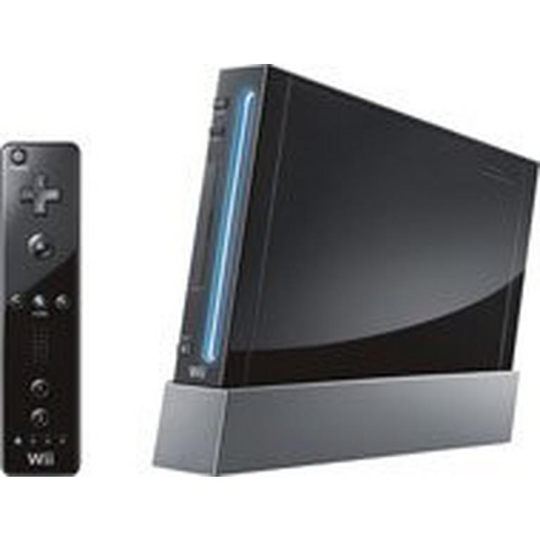 Nintendo Wii System - Black (GameStop Premium Refurbished)