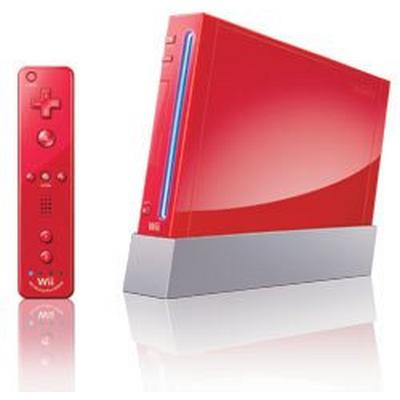 Nintendo Wii System - Red (GameStop Premium Refurbished)