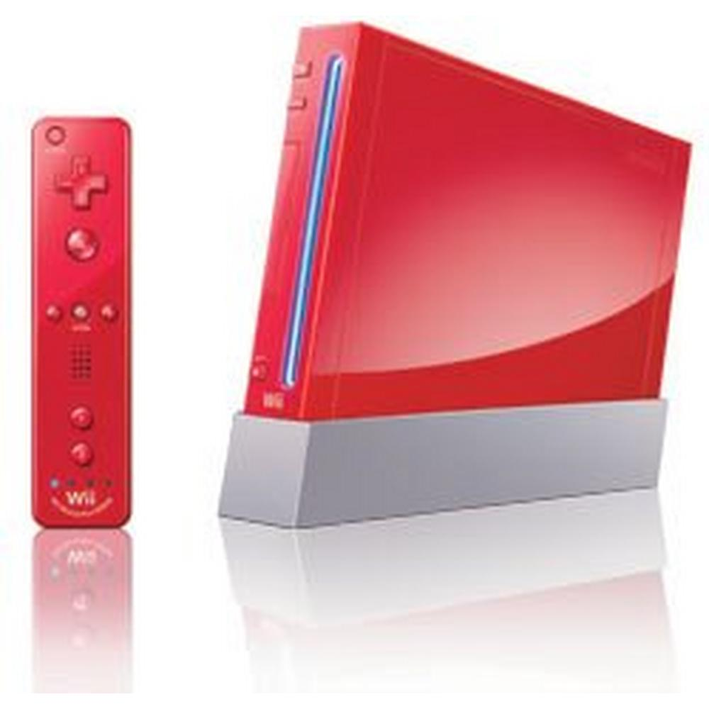 Nintendo Wii System Red Gamestop Premium Refurbished Nintendo Wii Gamestop