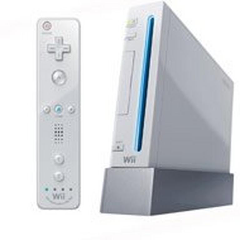 Nintendo Wii with New Motion Plus White