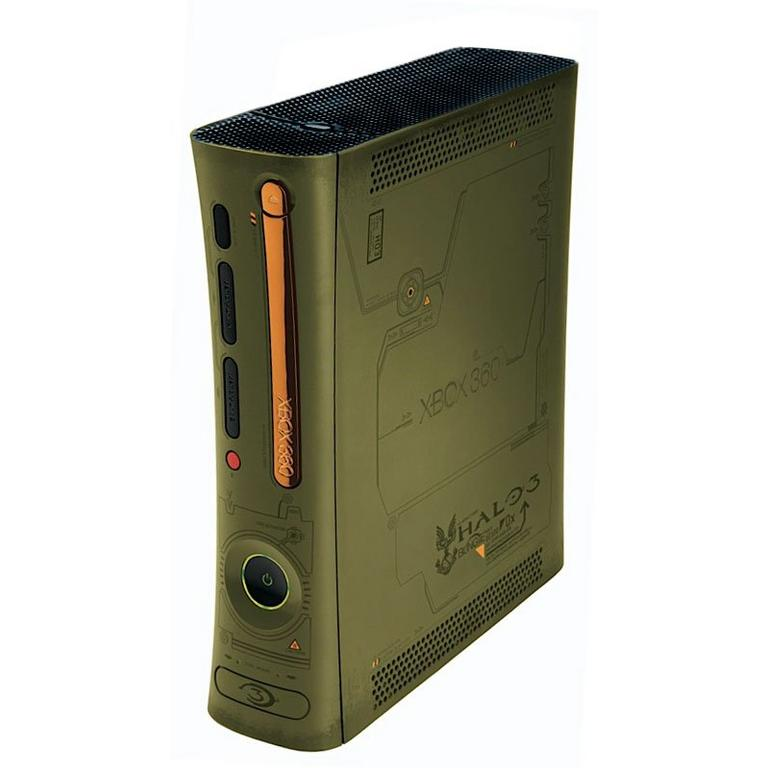 Xbox 360 System - Halo 3 Green with Wireless Controller