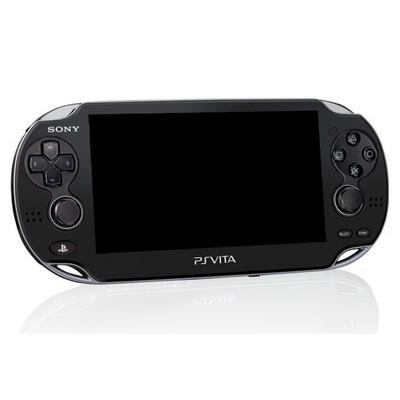 PlayStation Vita with WiFi Black (ReCharged Refurbished)