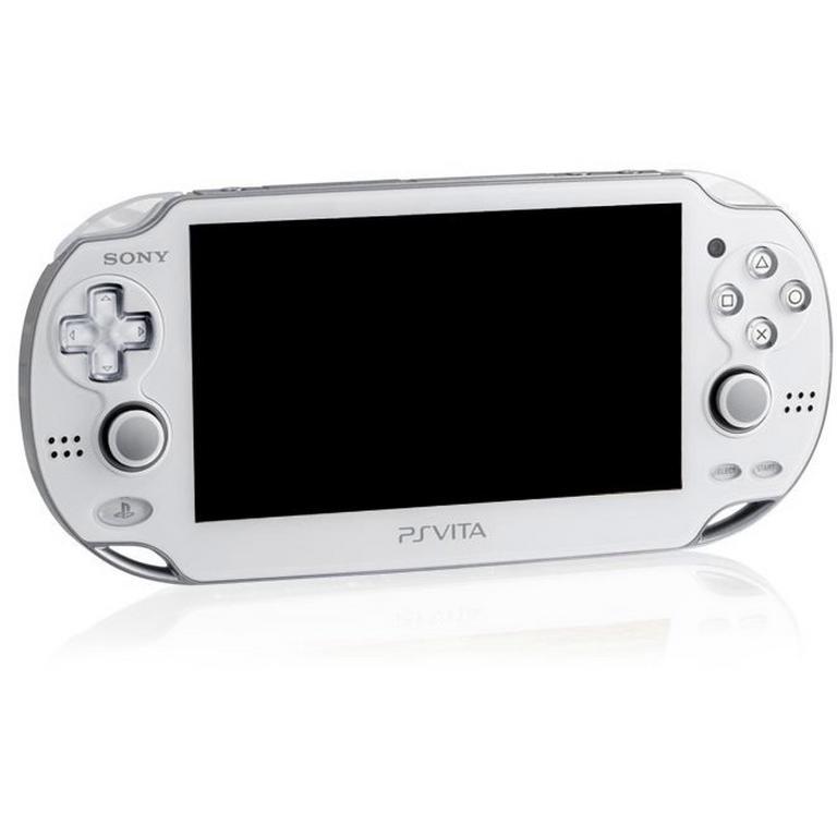 PlayStation Vita White with Wi-Fi GameStop Premium Refurbished