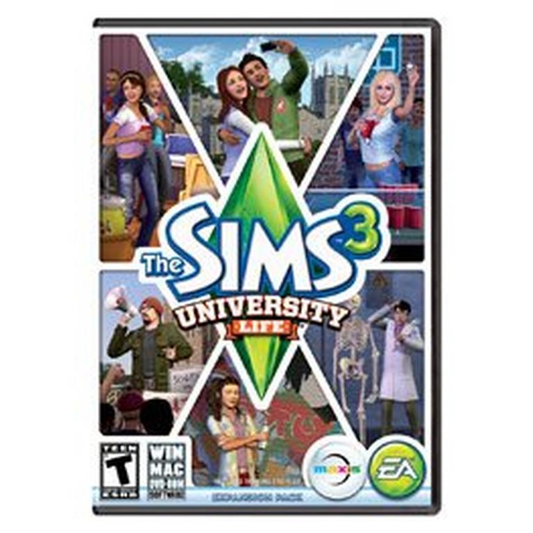 The Sims 3 University Life