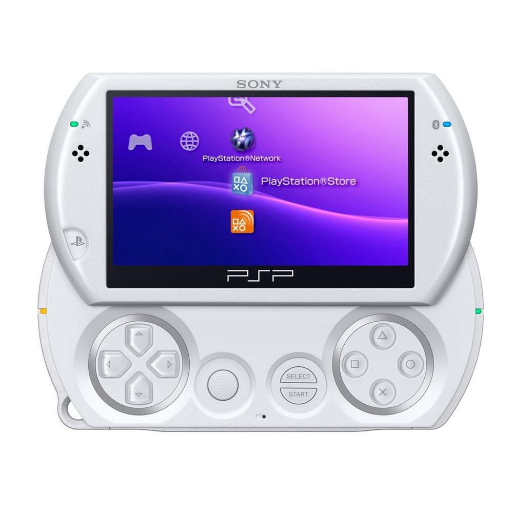 Sony PSP GO System - White (ReCharged Refurbished) | Sony PSP | GameStop
