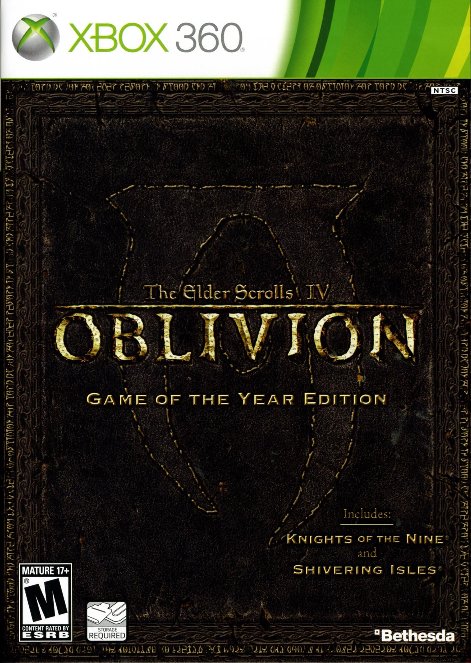 The Elder Scrolls IV Oblivion Game of the Year Edition | Xbox 360 | GameStop