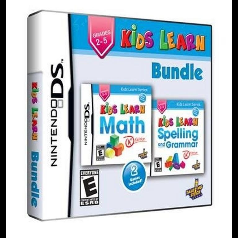 Kids Learn Math And Spelling Bundle