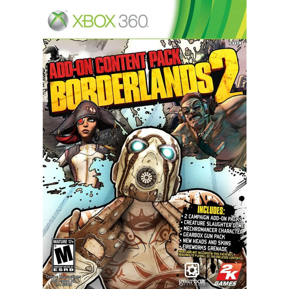 Borderland 2: Add-On Content Pack | Xbox 360 | GameStop