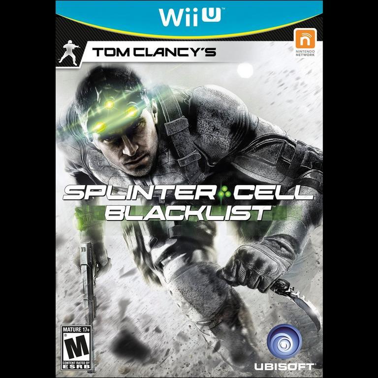Tom Clancy S Splinter Cell Blacklist Nintendo Wii U Gamestop