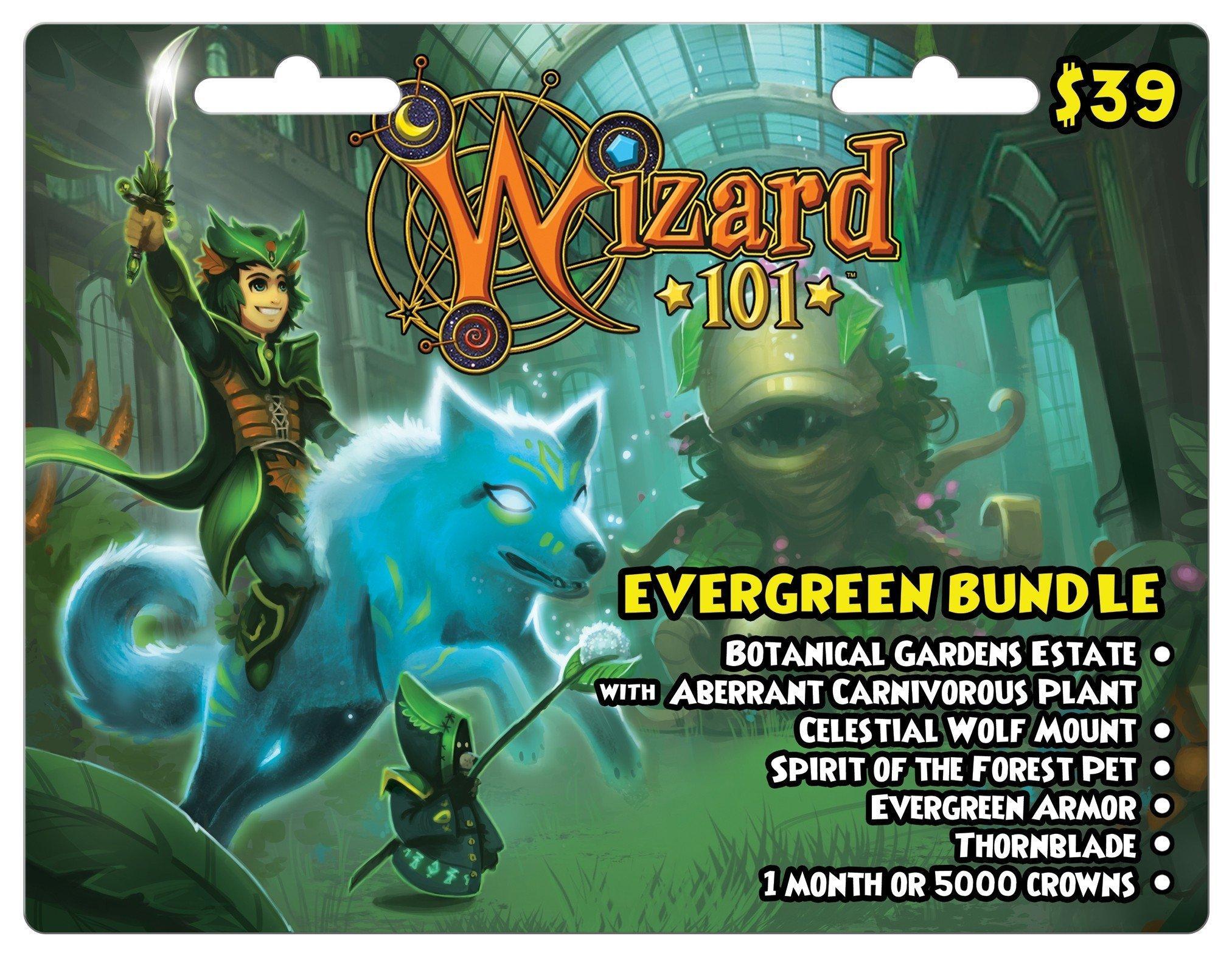Wizard 101 $39 - Evergreen Bundle | <%Console%> | GameStop