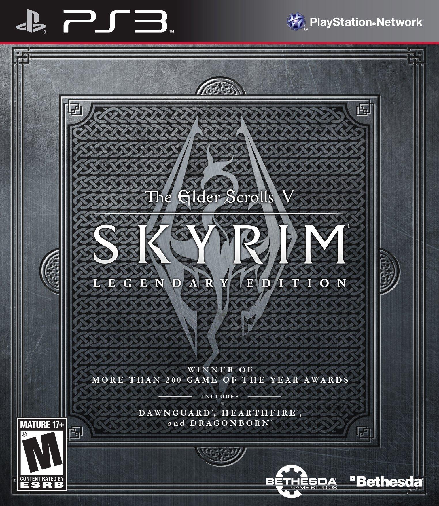 The Elder Scrolls V Skyrim Legendary Edition | PlayStation 3 | GameStop