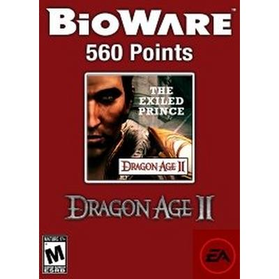 560 BioWare Points - Exiled Prince DLC