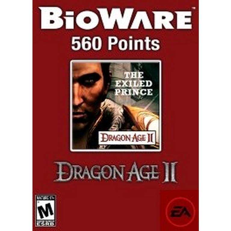 560 BioWare Points - Exiled Prince DLC