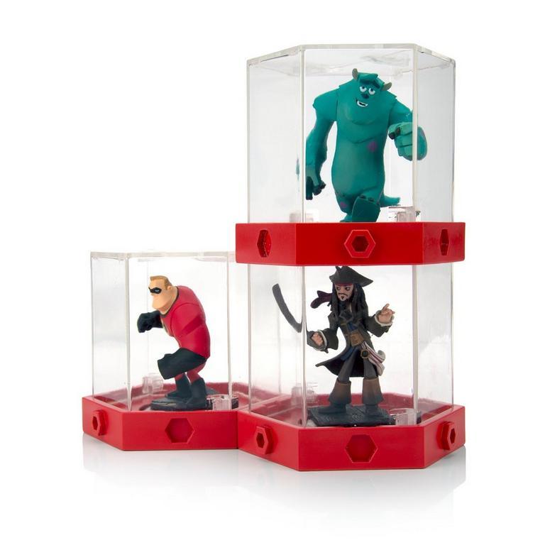Disney Infinity Figure Display Case- 3-pack