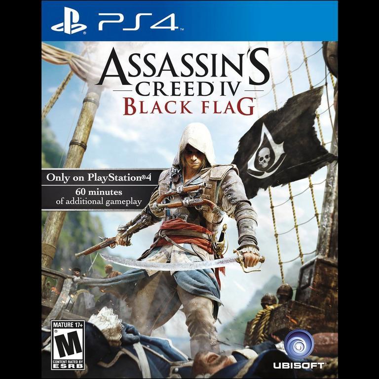 Assassin S Creed Iv Black Flag Playstation 4 Xbox One Nintendo