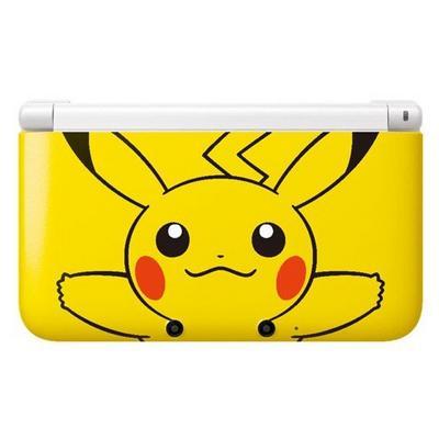 Nintendo 3DS XL System - Yellow Pikachu (GameStop Premium Refurbished)