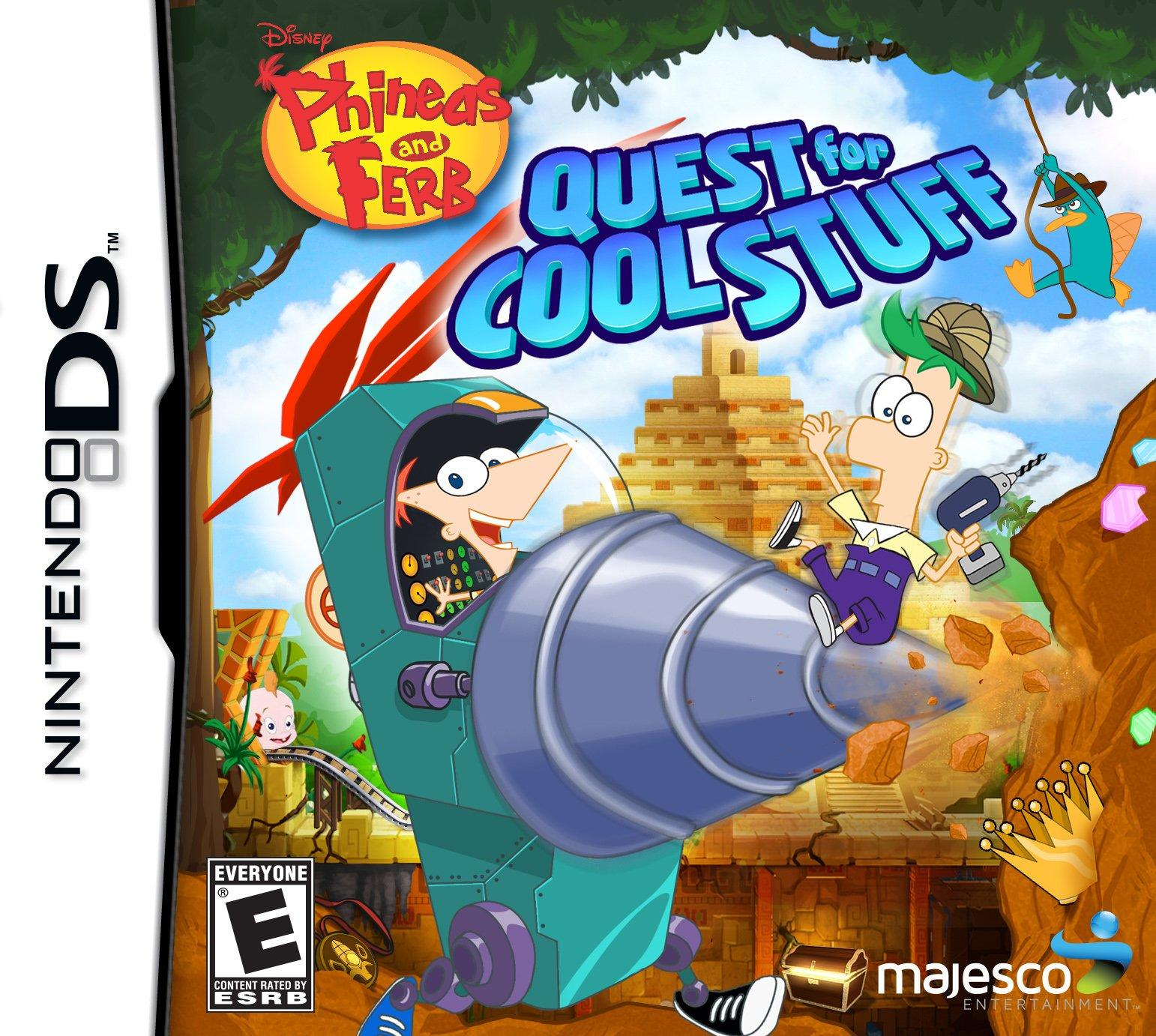 Phineas And Ferb Quest For Cool Stuff Nintendo Ds Gamestop