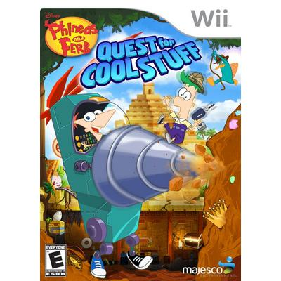 Phineas & Ferb Quest for Cool Stuff