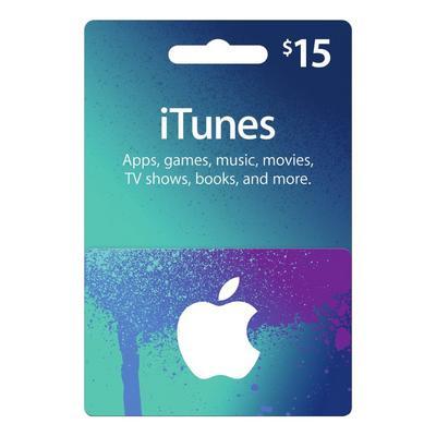 Apple iTunes $15