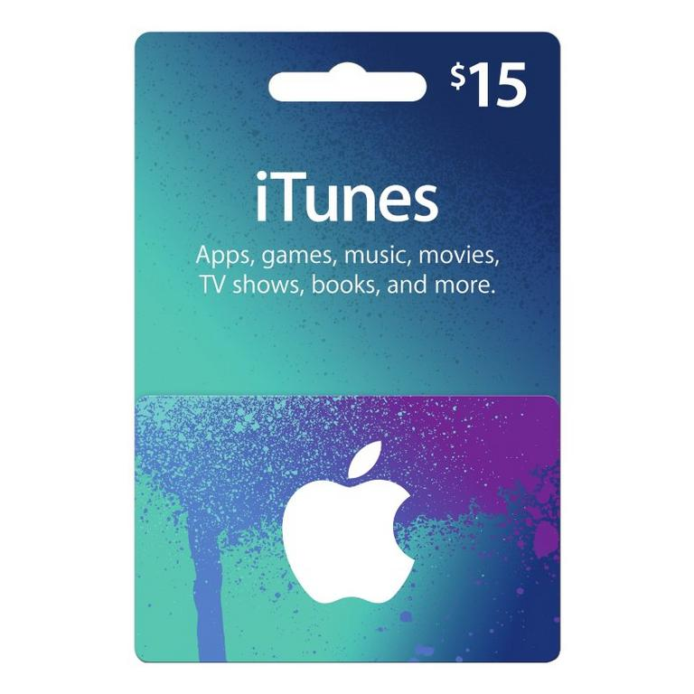 Apple iTunes $15