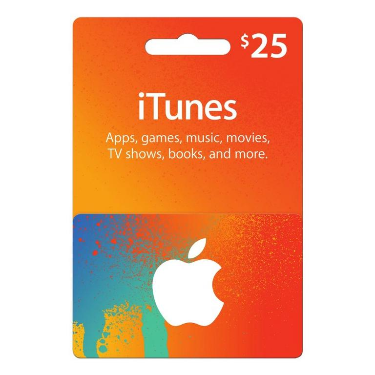Apple ITunes $25