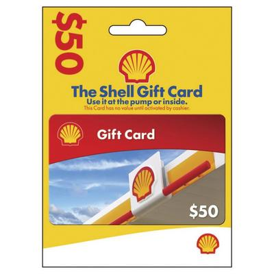Shell Oil Gas Card $50