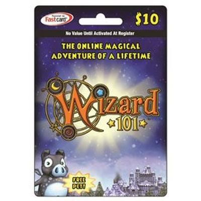 Wizard 101 $10 Digital Card