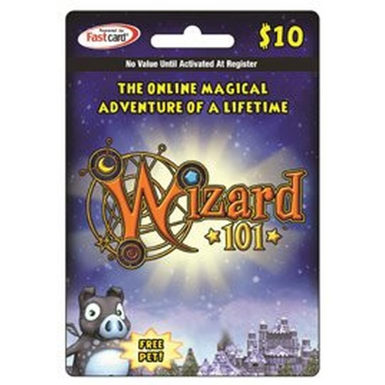 Wizard 101 $10 Digital Card