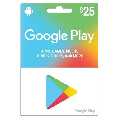 Google Play $25
