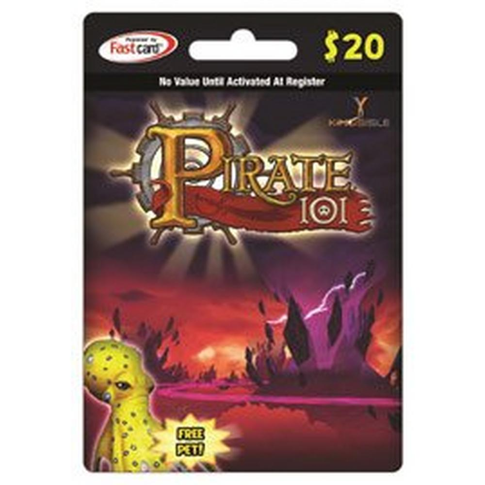 Pirate 101 $20 | <%Console%> | GameStop