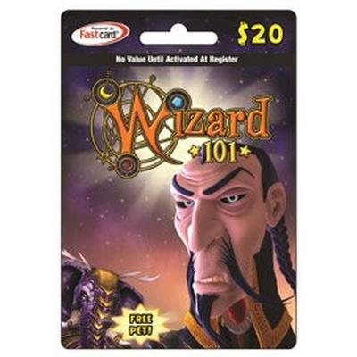 Wizard 101 $20 Digital Card