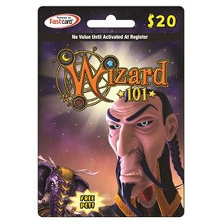 Wizard 101 $20 Digital Card