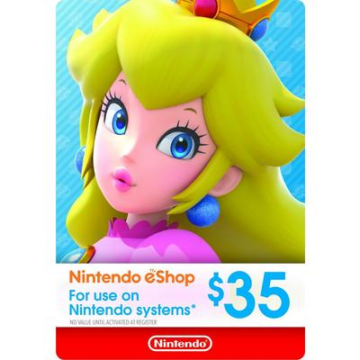 Nintendo eShop Digital Card $35