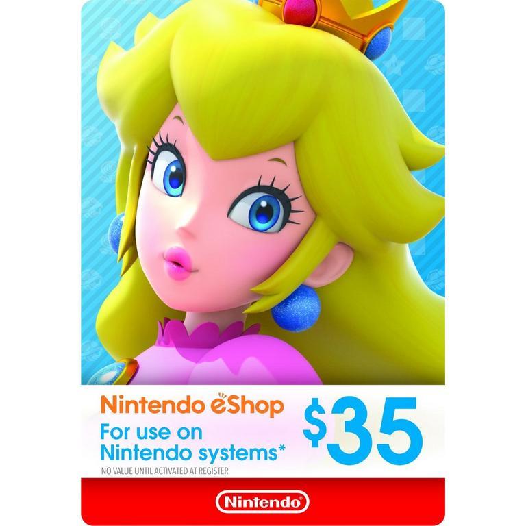 Nintendo of America eShop Digital Card $35 Nintendo Switch Available At GameStop Now!