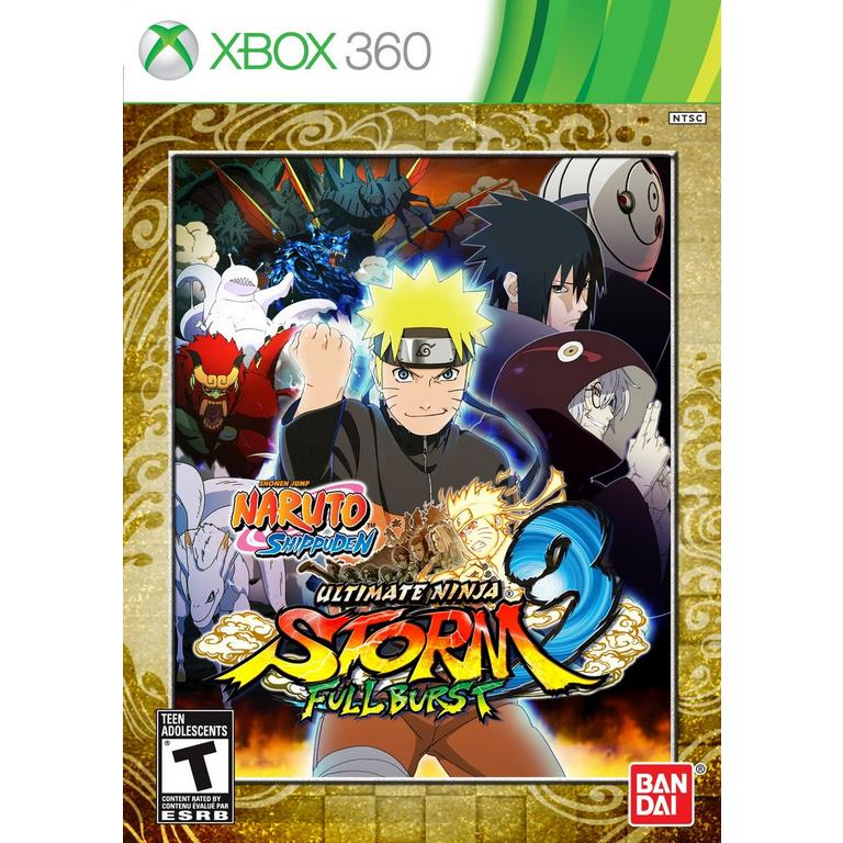 NARUTO SHIPPUDEN: Ultimate Ninja STORM 3 Full Burst | Xbox 360 | GameStop