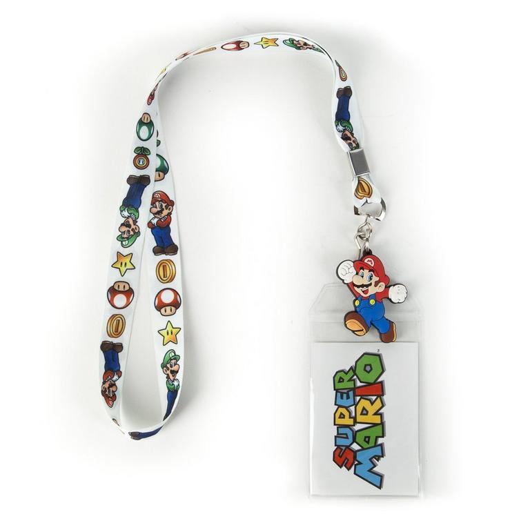 Super Mario Bros. Mario and Luigi Lanyard