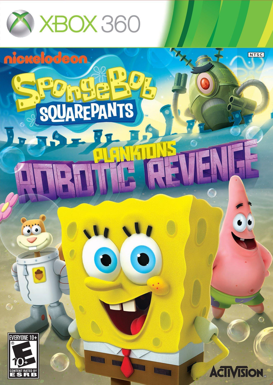 Spongebob Plankton's Robotic Revenge | Xbox 360 | GameStop
