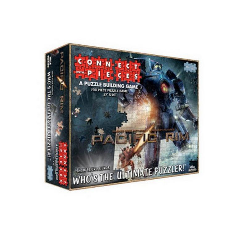 Pacific Rim Jaeger Version Connect With Pieces Puzzle-Building Game Pack