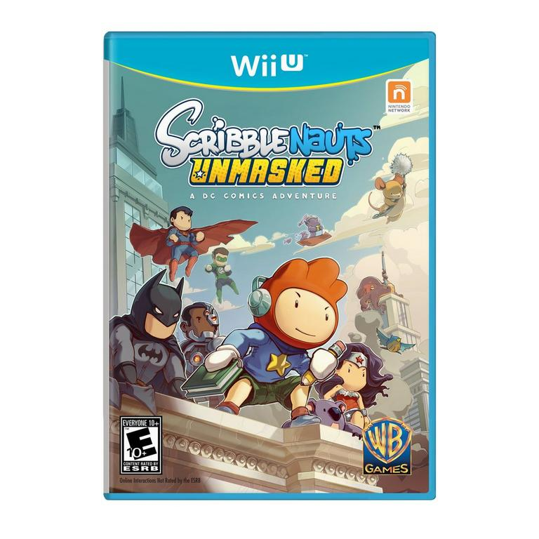 Scribblenauts Unmasked - A DC Comics Adventure | Nintendo Wii U | GameStop