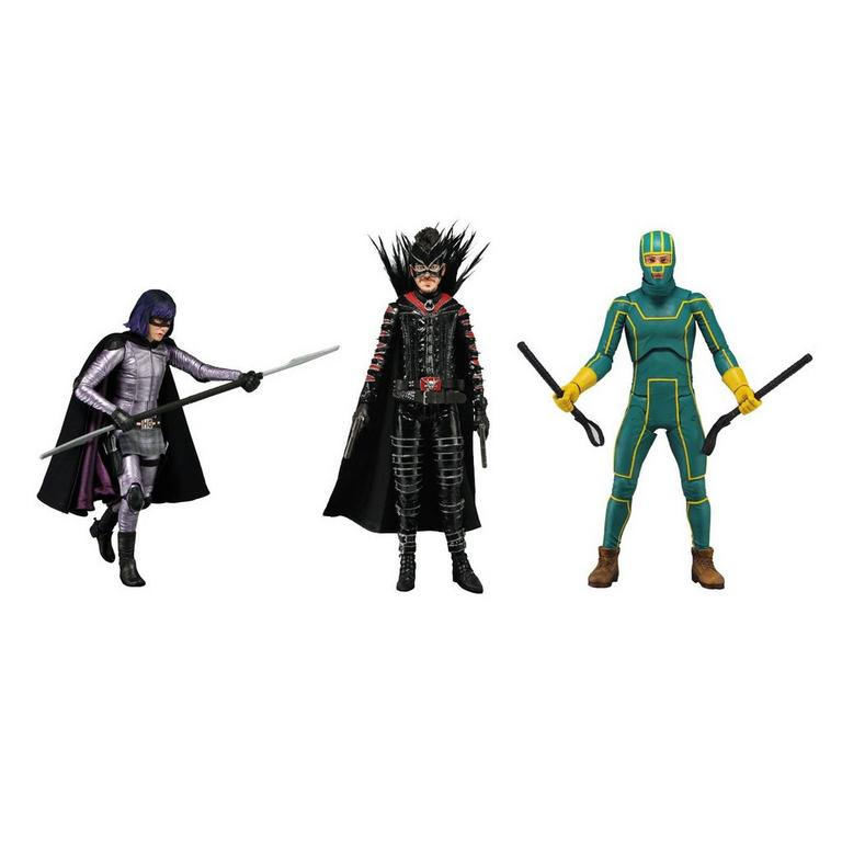 Kick Ass 2 - 7 inch Scale Action Figure- Complete Set