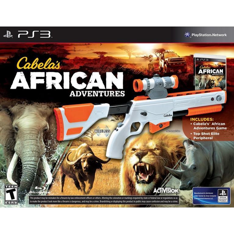 Cabela's African Adventures with Gun